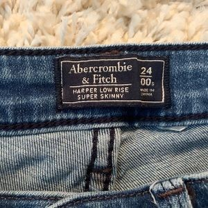 Abercrombie super skinny jeans size 24 00 short